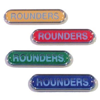 ROUNDERS badge